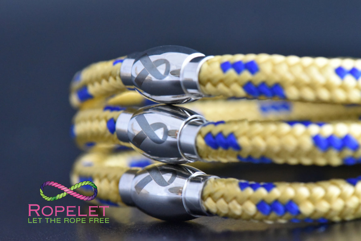 Charity bracelets made by www.ropelet.co.uk to support your Charity, jewelry , charity bracelet